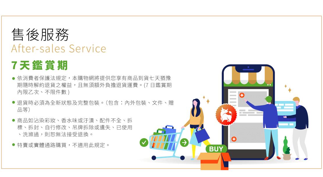 售後服務-7天鑑賞期